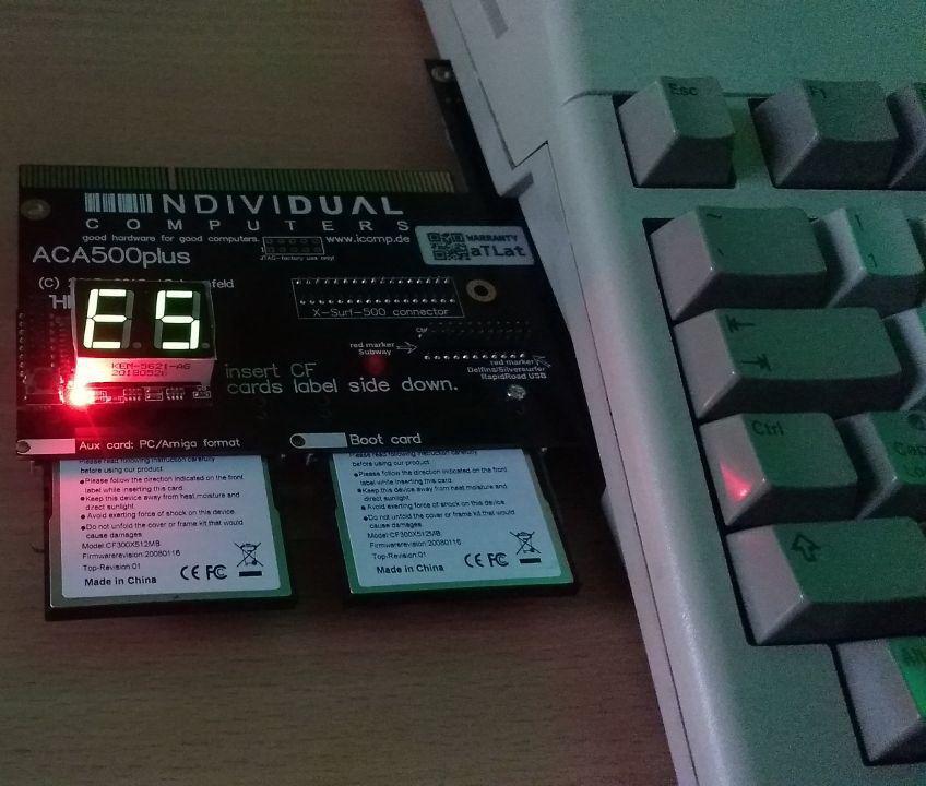 ACA500+ stopped working (E5) - Amiga Accelerators - Individual
